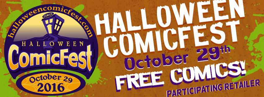 Visit Spandex City in Charlotte, NC for Halloween ComicFest 2016