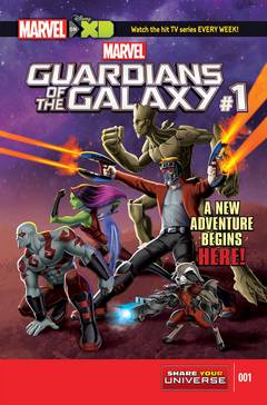 Marvel Universe Guardians of Galaxy