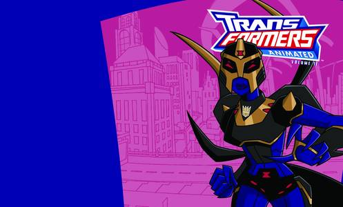 TRANSFORMERS ANIMATED TP VOL 12