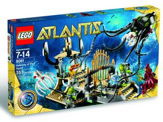 LEGO ATLANTIS GATEWAY O/T SQUID SET
