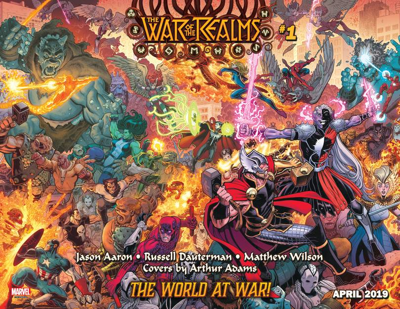 War of Realms  (6 issue Miniseries)