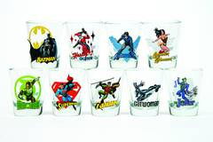 Toon Tumblers Wonder Woman Mini Glass