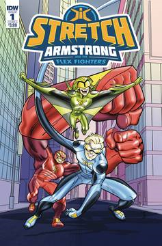 Stretch Armstrong & Flex Fighters (3-issue mini-series)