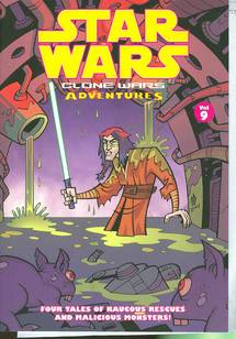 STAR WARS CLONE WARS ADVENTURES TP VOL 09