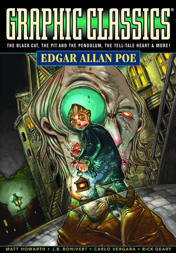 GRAPHIC CLASSICS GN VOL 01 EDGAR ALLAN POE 4TH ED