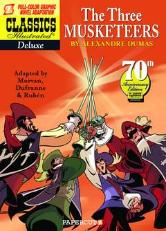 CLASSICS ILLUS DLX SC VOL 06 THREE MUSKETEERS