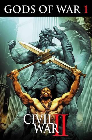 Civil War II Gods of War (4-issue mini-series)