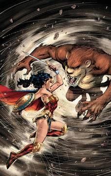 Wonder Woman Tasmanian Devil Special