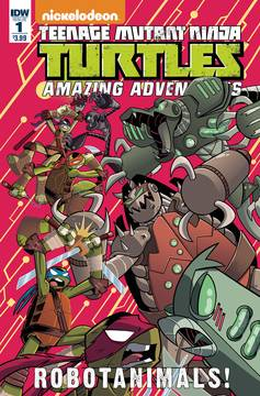 TMNT Amazing Adventures Robotanimals (3-issue mini-series)