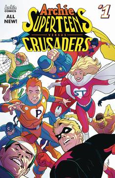 Archies Superteens Vs Crusaders