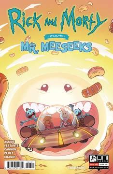Rick & Morty Presents Mr Meeseeks