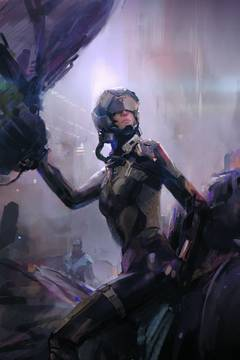 Eve Valkyrie (4-issue mini-series)