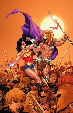 WONDER WOMAN RISE OF THE OLYMPIAN TP