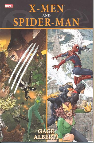 X-MEN SPIDER-MAN TP