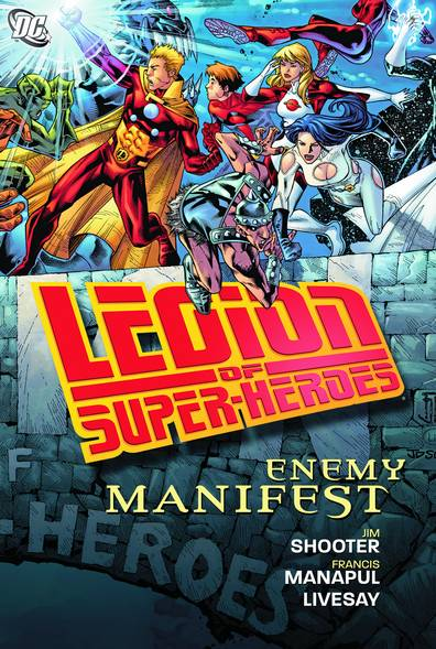 LEGION OF SUPER HEROES ENEMY MANIFEST TP