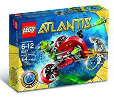 LEGO ATLANTIS WRECK RAIDER SET
