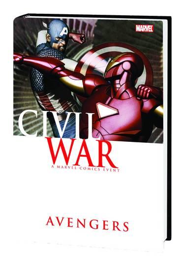 CIVIL WAR AVENGERS HC