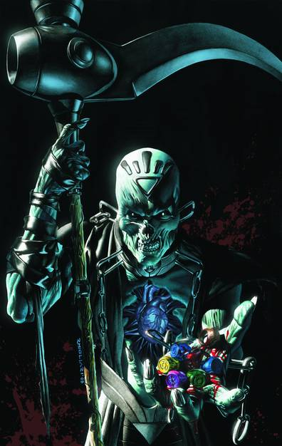 BLACKEST NIGHT BLACK LANTERN CORPS HC VOL 02