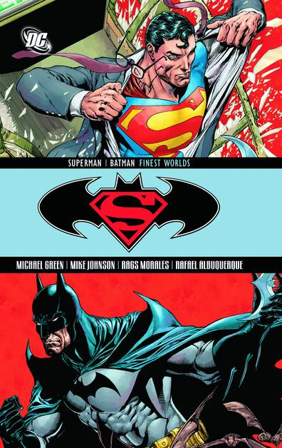 SUPERMAN BATMAN FINEST WORLDS TP