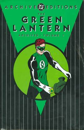 GREEN LANTERN ARCHIVES HC VOL 01