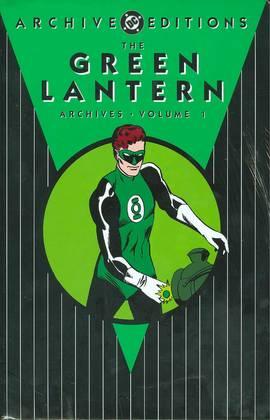 GREEN LANTERN ARCHIVES HC VOL 01