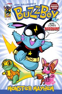 Buzzboy Go Digital Monster Mayhem