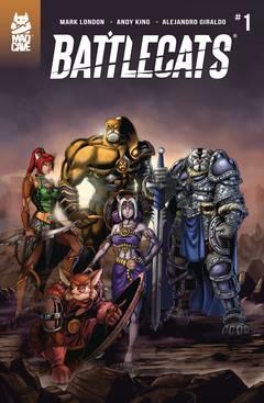 Battlecats (5-issue mini-series)