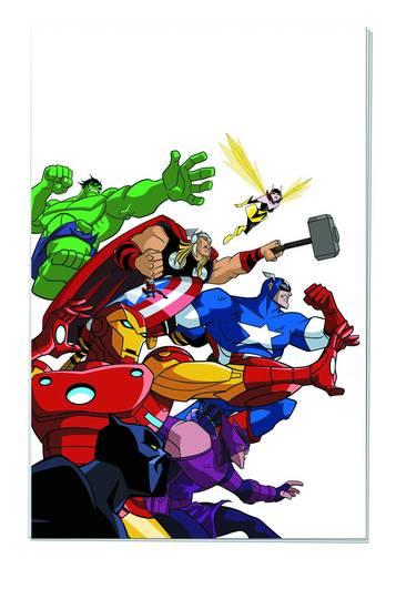 Avengers Earths Heroes Adv Comic Reader