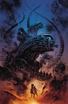 Aliens Dust To Dust (4-issue mini-series)