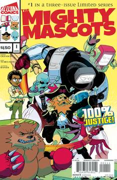 Mighty Mascots 3 Issue Miniseries