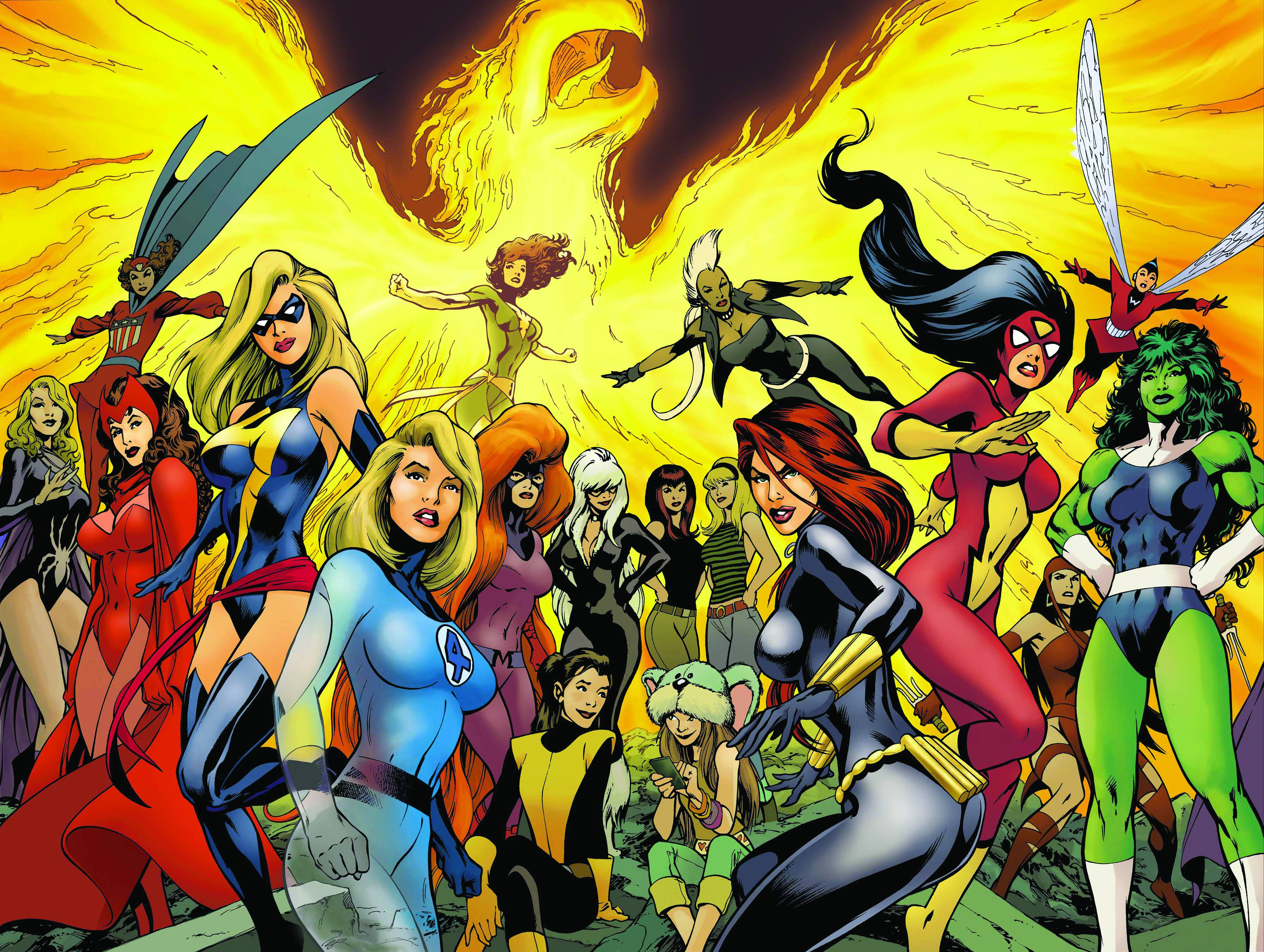 WOMEN OF MARVEL CELEBRATING SEVEN DECADES