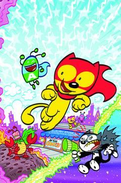Aw Yeah Comics Action Cat