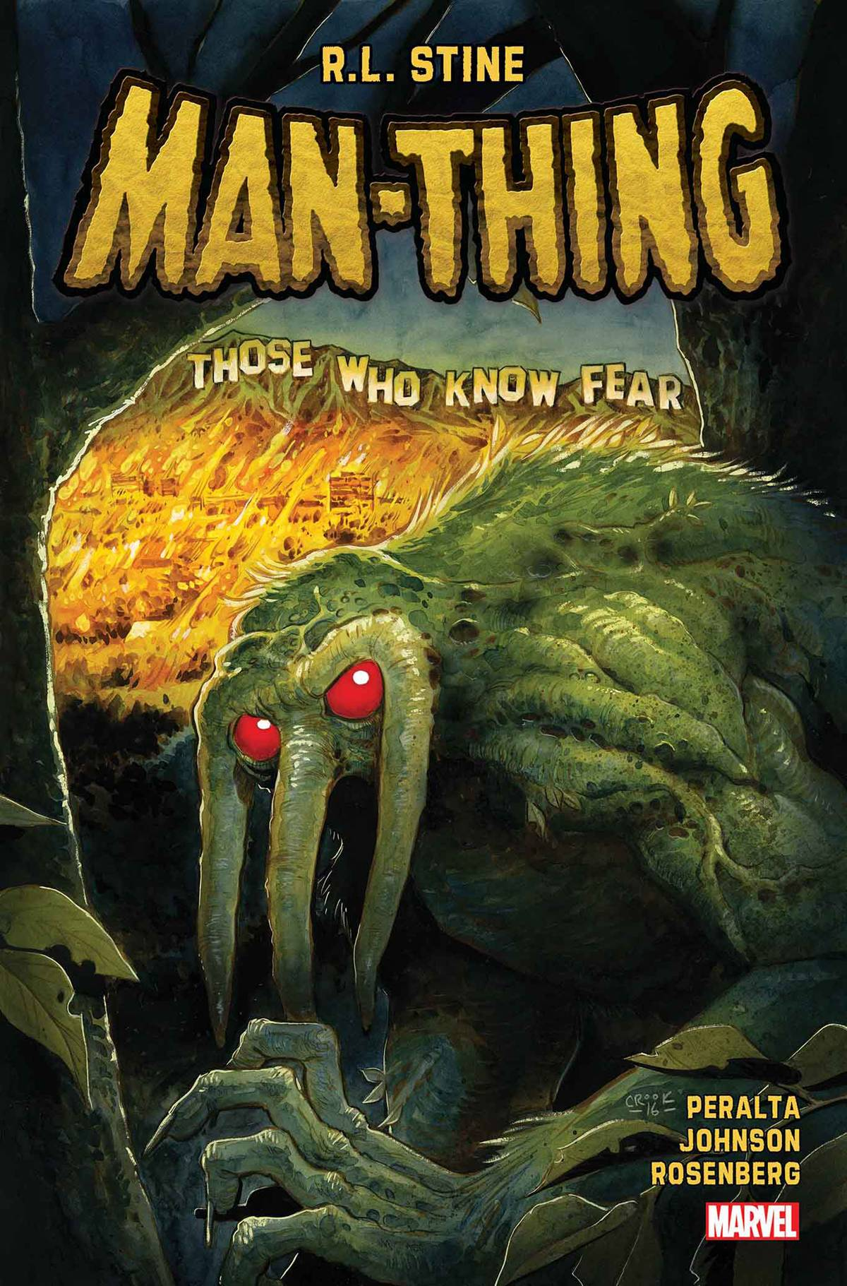 Man-Thing (5-issue mini-series)