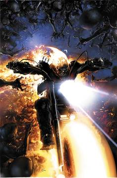Damnation Johnny Blaze Ghost Rider Leg