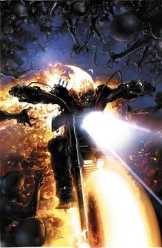 Damnation Johnny Blaze Ghost Rider Leg