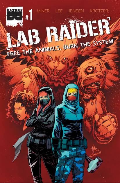 Lab Raider  (4 issue Miniseries)
