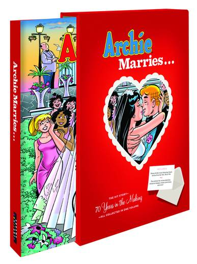 ARCHIE MARRIES 70 YEARS IN MAKING SLIPCASE HC