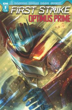Optimus Prime First Strike
