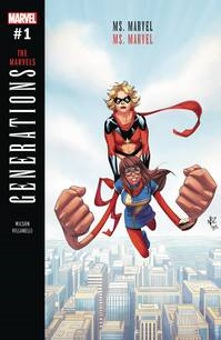 Generations Capt Marvel & Ms Marvel