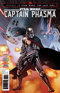 Journey Star Wars Last Jedi Capt Phasma (4-issue mini-series)
