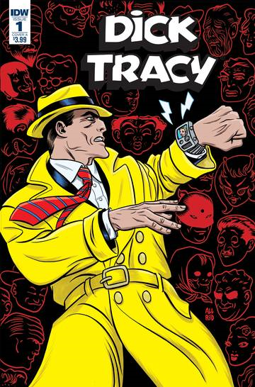 Dick Tracy Dead Or Alive (4-issue miniseries)