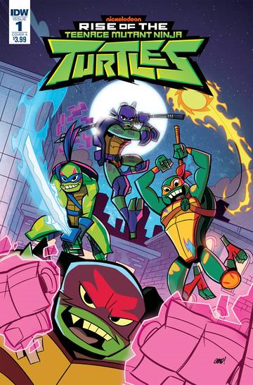 TMNT Rise of the TMNT (2-issue miniseries)