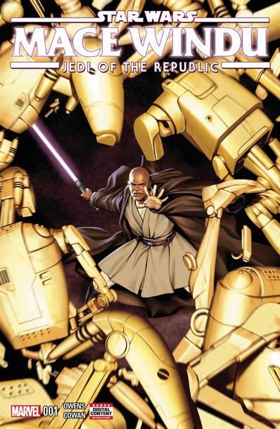 Star Wars Jedi Republic Mace Windu (5-issue mini-series)