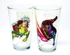 Toon Tumblers Gambit Clear Pint Glass