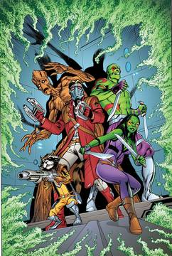 Guardians of Galaxy Mother Entropy 5-issue mini-series