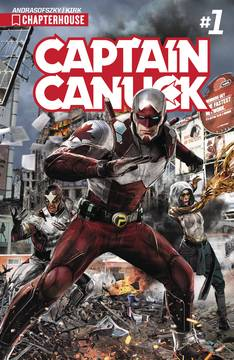 Captain Canuck 2017 Ongoing