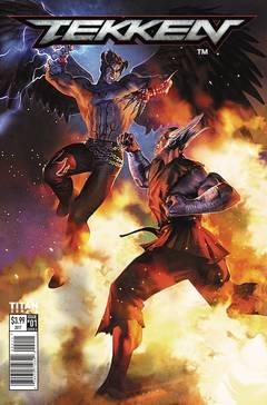 Tekken 4-issue mini-series