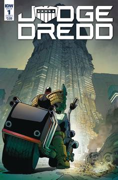 Judge Dredd Under Siege (4-issue mini-series)
