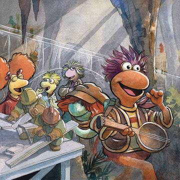 Jim Henson Fraggle Rock