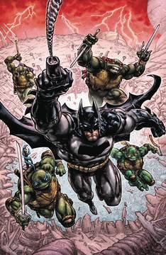 Batman Teenage Mutant Ninja Turtles Iii 6 Issue Miniseries